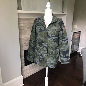 Anthropologie Winter Jacket - Camo